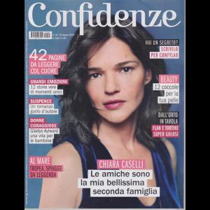 Confidenze - n. 35 - 20 agosto 2019 - settimanale