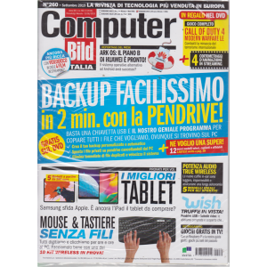 Computer Bild Dvd - n. 260 - settembre 2019 - mensile