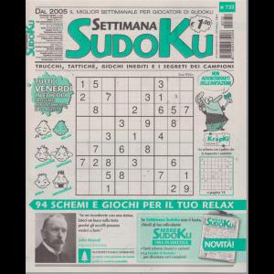 Settimana Sudoku - n. 732 - settimanale - 23 agosto 2019 -
