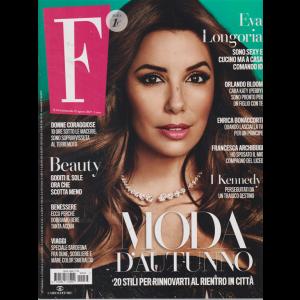 F - n. 34 - settimanale - 27 agosto 2019 -