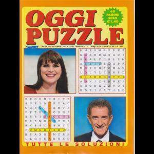 Oggi Puzzle - n. 261 - bimestrale - settembre - ottobre 2019 68 pagine