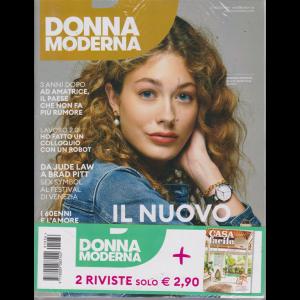 Donna Moderna + Casa facile - n. 36 - 22 agosto 2019 - settimanale - 2 riviste