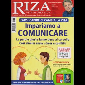 Riza Psicosomatica - n. 457 - mensile - marzo 2019 -