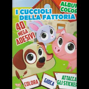 Album color - I cuccioli della fattoria - n. 32 - bimestrale - 22 agosto 2019