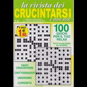 La Rivista dei crucintarsi e non solo - n. 22 - bimestrale - agosto - settembre 2019 - 100 giochi per il tuo relax