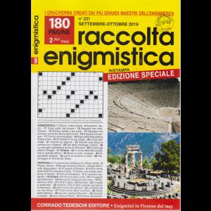 Raccolta Enigmistica - n. 231 - settembre - ottobre 2019 - bimestrale - 180 pagine - edizione speciale