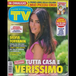 Sorrisi E Canzoni Tv - + in omaggio il primo libro della collana I miei piccoli eroi - Leonardo da Vinci con copertina rigida -  n. 34 - 27 agosto 2019 - settimanale