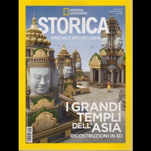 Storica Speciale Archeologia - I grandi templi dell'Asia - Ricostruzioni in 3 D - n. 5 - settembre 2019 - bimestrale