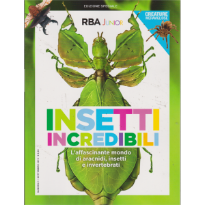 Insetti incredibili - n. 1 - settembre 2019 - bimestrale