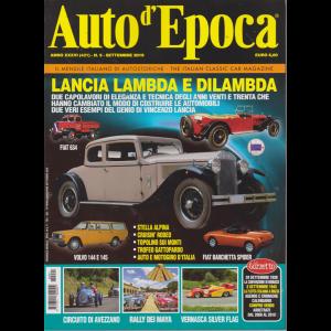 Auto D'epoca - n. 9 - settembre 2019 - mensile