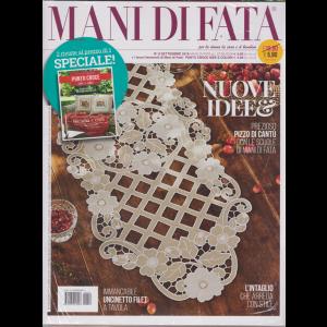 Mani Di Fata + Speciale Punto Croce idee e colori - n. 9 - settembre 2019 - mensile - 2 riviste