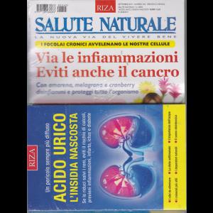 Salute Naturale + il libro Acido urico l'insidia nascosta - n. 245 - settembre 2019 - mensile -