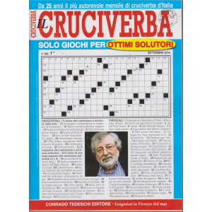 Il Cruciverba - n. 308 - settembre 2019 - mensile