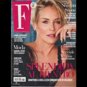 F - n. 35 - settimanale - 3 settembre 2019 -