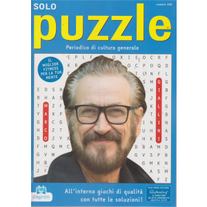 Solo Puzzle - n. 150 - bimestrale - 27/8/2019 -