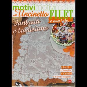 Motivi All'uncinetto - Filet e non solo.... - n. 43 - bimestrale - settembre - ottobre 2019 -