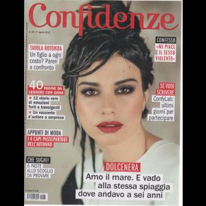 Confidenze - n. 36 - 27 agosto 2019 - settimanale