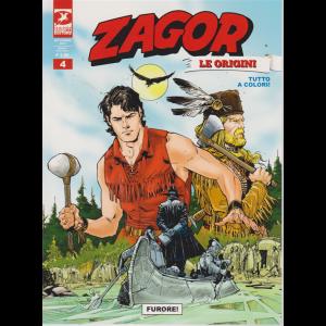 Zagor Gigante - Furore ! - n. 4 - settembre 2019 - mensile