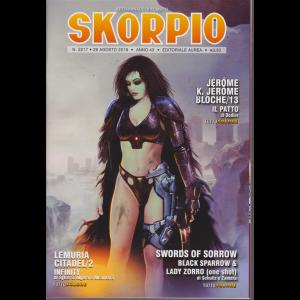 Skorpio - n. 2217 - 29 agosto 2019 - settimanale di fumetti