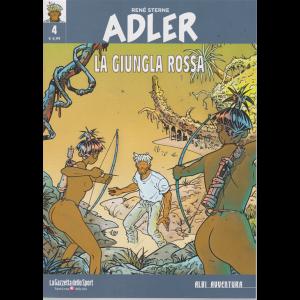 Albi AvventurA - Adler - La giungla rossa - n. 4 - settimanale -