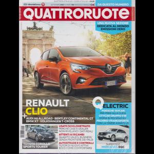 Quattroruote + - Dueruote - n. 769 - mensile - settembre 2019 - 2 riviste