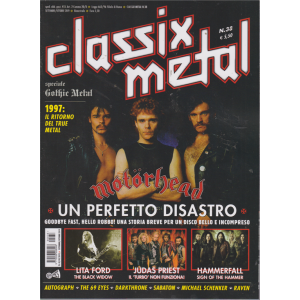 Classix! Metal -n. 38 - bimestrale - settembre - ottobre 2019