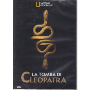 National Geographic dvd - La tomba di Cleopatra - mensile - 2/9/2019 -