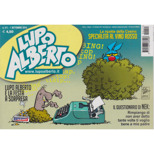 Lupo Alberto - n. 411 - 1 settembre 2019 - mensile