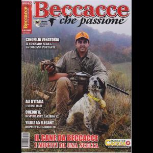 Beccacce che passione - n. 5 - bimestrale - settembre - ottobre 2019 -
