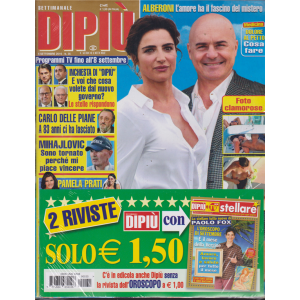 Settimanale Dipiu'+ - Stellare - n. 35 - 6 settembre 2019 - 2 riviste