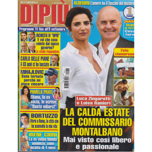 Settimanale Dipiu' - n. 35 - 6 settembre 2019 -