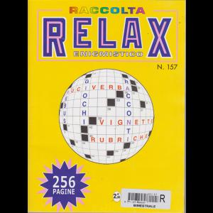 Raccolta Relax enigmistico - n. 157 - bimestrale - aprile maggio 2018 - 256 pagine