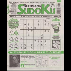 Settimana Sudoku - n. 734 - settimanale - 6 settembre 2019