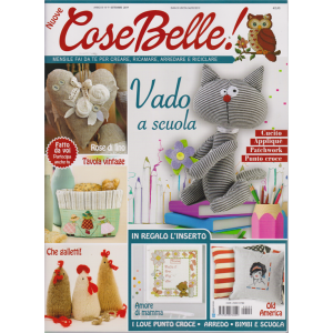 Nuove Cose Belle - n. 9 - settembre 2019 - mensile