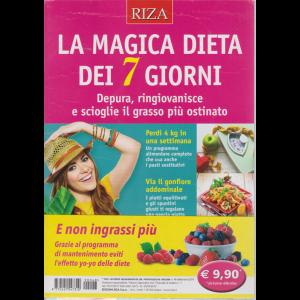 Alimentazione naturale - La magica dieta dei 7 giorni - n. 48 - settembre 2019 -