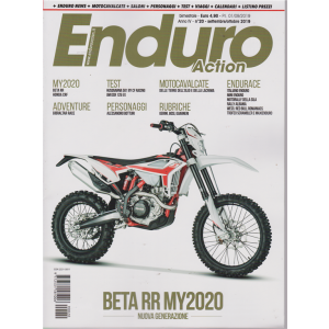 Enduro Action - n. 20 - bimestrale - settembre - ottobre 2019 -