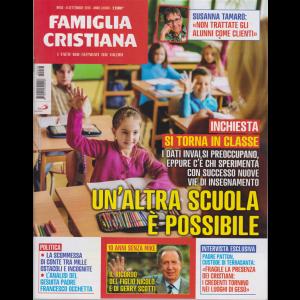 Famiglia Cristiana - n. 36 - 8 settembre 2019 - settimanale