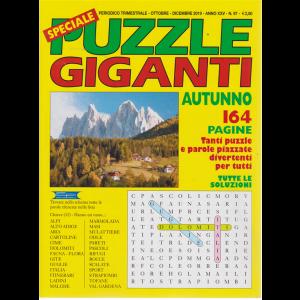 Speciale Puzzle Giganti - autunno - n. 97 - trimestrale - ottobre - dicembre 2019 - 164 pagine