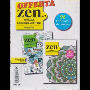 Offerta Zen Mandala e disegni antistress - n. 7 - bimestrale - 15/11/16 - 15/12/16 - 2 riviste
