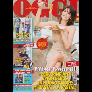 Oggi - Elisa Isoardi - n. 36 - settimanale - 12/9/2019