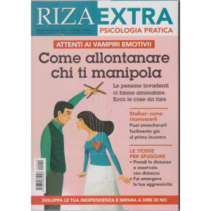 Riza Extra - Psicologia pratica - n. 10 - bimestrale - settembre - ottobre 2019