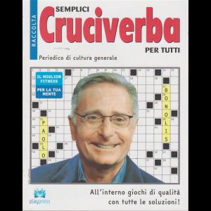 Raccolta semplici cruciverba per tutti - n. 32 - bimestrale - 4/9/2019