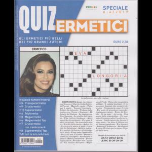 Quiz Ermetici - n. 4 - 6/9/2019 - trimestrale