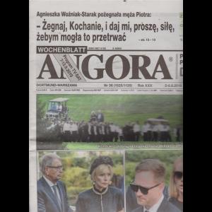 Angora - n. 36 - 2-8-9-2019 - in lingua polacca
