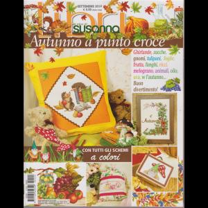 Libri Susanna - Autunno Punto Croce - n. 22 - settembre 2019 - trimestrale