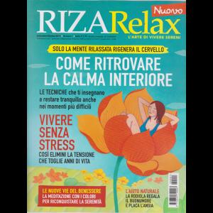 Riza Relax - Come ritrovare la calma interiore - n. 1 - settembre - ottobre 2019 - bimestrale