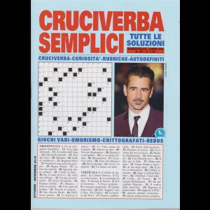 Cruciverba Semplici - n. 90 - bimestrale - ottobre - novembre 2019