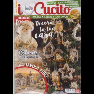 I Love Cucito  Extra - n. 25 - bimestrale - settembre - ottobre 2019 - + in regalo un fascicolo d'idee natalizie - 2 riviste