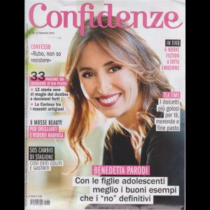 Confidenze - n. 38 - 10 settembre 2019 - settimanale