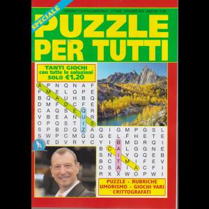 Speciale Puzzle Per tutti - n. 94 - bimestrale - ottobre - novembre 2019